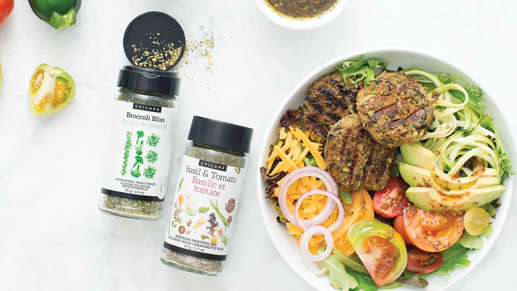 Veggie Burger Nourish Bowl