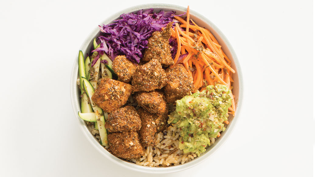 Popcorn Chicken Nourish Bowl
