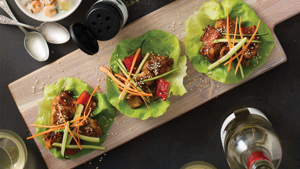 General Tao Lettuce Wraps