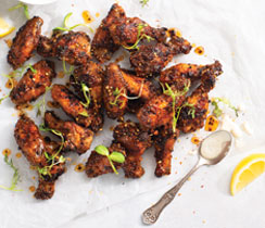 Honey Red Garlic Wings
