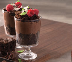 Chocolate Brownie Tiramisu