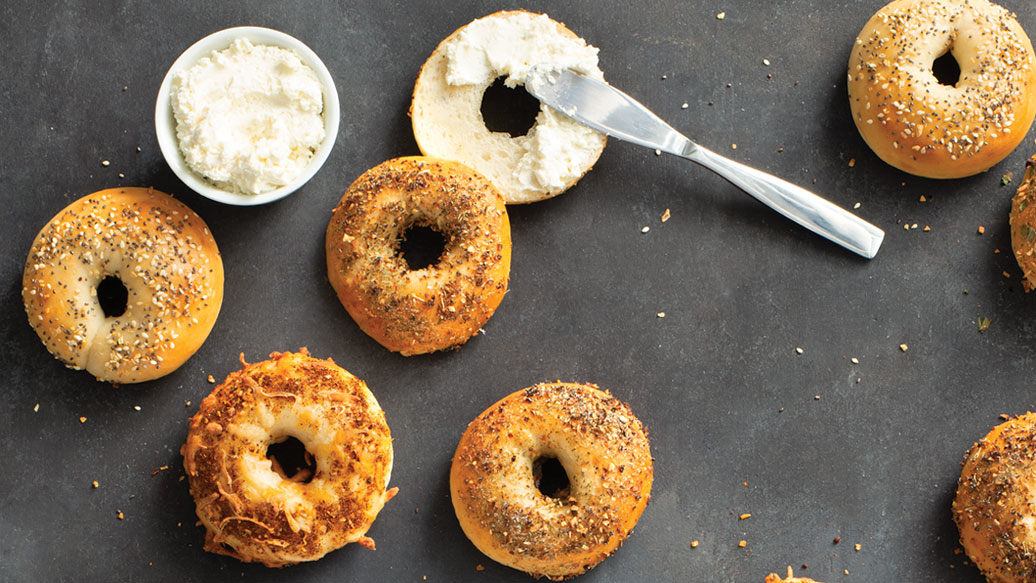 Bagels au four en portions parfaites