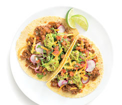 Beef Chili Tacos