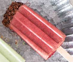 Cocoa Acai Smoothie Pop