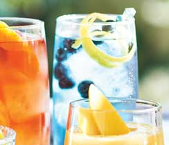 Sparkling Blue Butterfly Iced Tea
