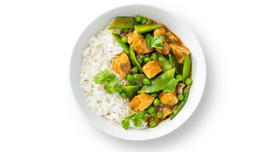 Red Curry Chicken Bowl