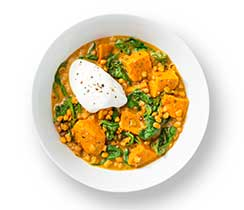 Red Curry Lentil Bowl