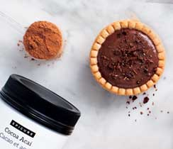 Cocoa Crunch Pudding Tarts
