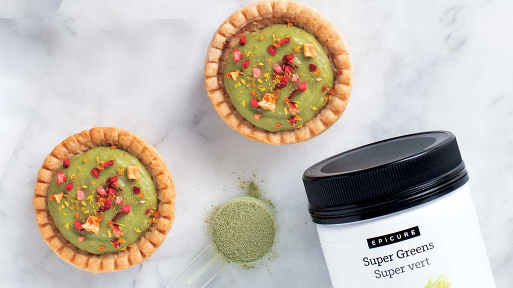 Tutti Fruity Avocado Lime Tarts