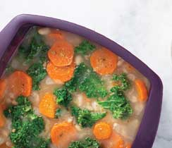 Quick White Bean & Kale Soup