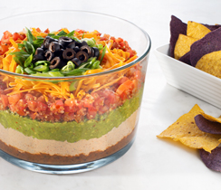 Make-Ahead Mexican Layer Dip