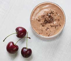 Powered Up Chocolate Tahini Smoothie