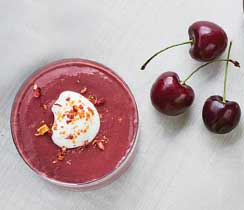 Smoothie rouge velours
