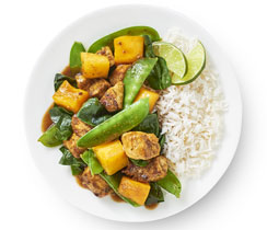 Mango Curry Chicken Stir-Fry