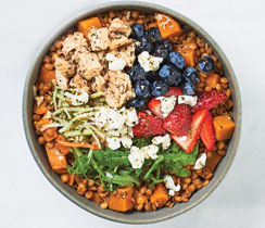 Sublime Salmon Power Bowl