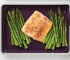 Sheet Pan Salmon & Asparagus