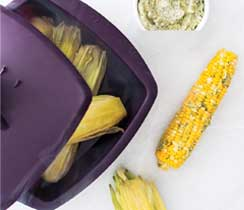 Easy Mess-Free Microwave Corn