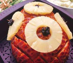 Honey Mustard & Pineapple Glazed Ham