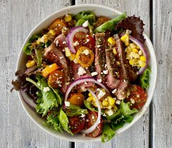 Grilled Steak Salad Bowls