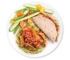 Easy Chicken Fajitas