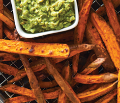 Fajita Sweet Potato Fries