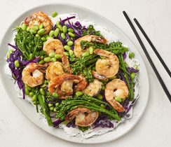 Sweet Garlic Shrimp Stir-Fry