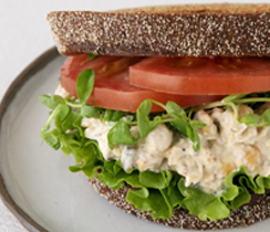 Best Ever Ranch Chickpea Salad Sandwich