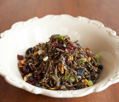 Wild Rice with Cranberry and Orange