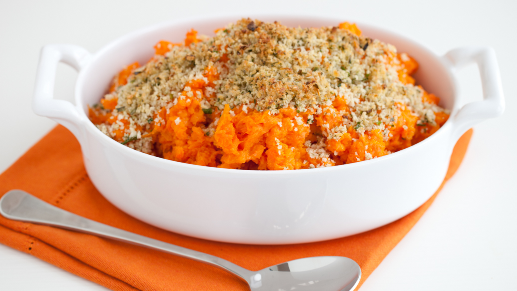 Carrot and Yam Casserole