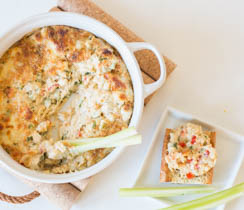 Hot Jalapeño Crab Dip