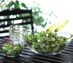 Summer Salad with White Balsamic Dressing