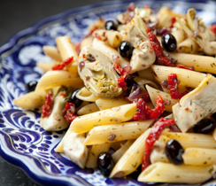 Pasta Pronto with Sun-dried Tomatoes