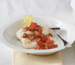 Italian-style Fish Fillets with Pesto
