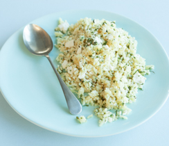 Rice with Feta and Mint